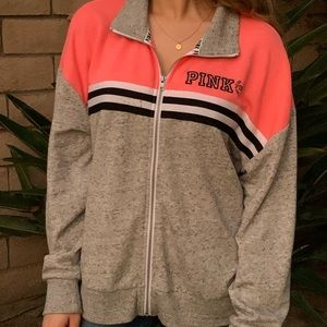 PINK zip up jacket